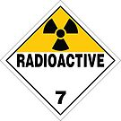 Radioactive Warning Sign by Rupert Russell