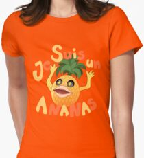 Je Suis Un Ananas Womens Fitted T-Shirt