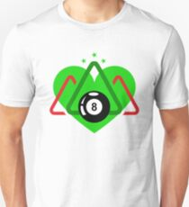 Pool and Billiard Lovers T-Shirt