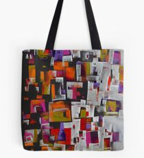 Split Down the Middle Tote Bag