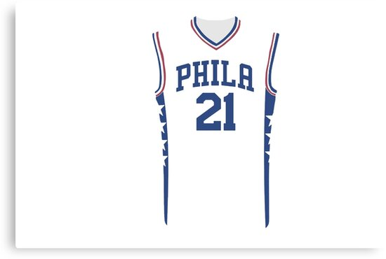 hot sale online af281 f146a where to buy joel embiid t shirt jersey bc514 61b10