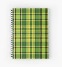 Westy Tartan Green | Bulli Boys Spiral Notebook