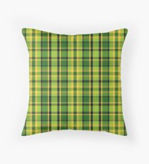 Westy Tartan Green | Bulli Boys Throw Pillow