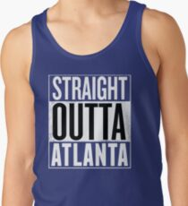 Straight Outta Atlanta, Lovers Atlanta City T-Shirt  Tank Top