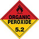 Organic Peroxide Warning Sign by Rupert Russell