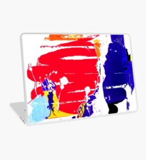 Think Positive - oil painting Laptop Skin