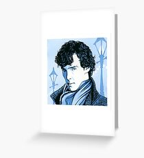 221B Supersleuth Greeting Card