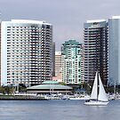 San Diego Across the Bay by Jan  Wall