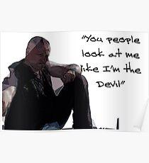 Walking Dead Merle Poster