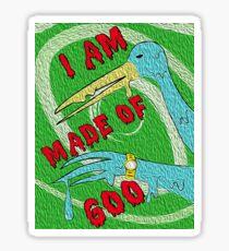 I Am Goo Retro Bird Sticker