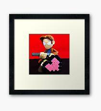 Mal Valentines Framed Print