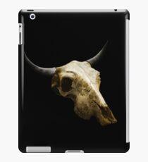 Royal Texture Cow Skull Design v.9  iPad Case/Skin