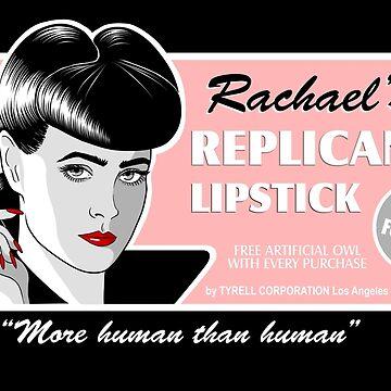 Rachael's Replicant Lipstick by SwanStarDesigns