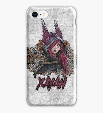 League of Legends - XAYAH - Graffiti style iPhone Case/Skin