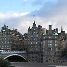 bridge at Old town, Edinburg, Scotland by chord0