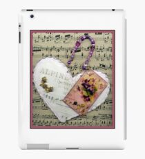 Alpine Violet Heart! iPad Case/Skin