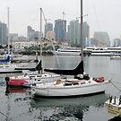 Embarcadero at San Diego by Jan  Wall