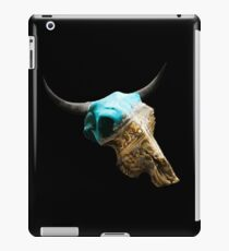Jewelry Cow Skull Design v.10  iPad Case/Skin