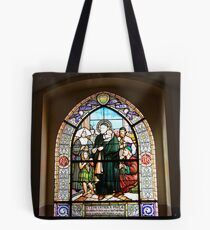 Stained Glass Windows depicting the St. Vincent de Paul Tote Bag