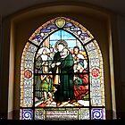 Stained Glass Windows depicting the St. Vincent de Paul by Elzbieta Fazel