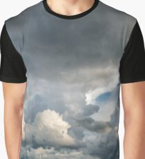 Storm Cloud Panorama over Lake Constance Graphic T-Shirt