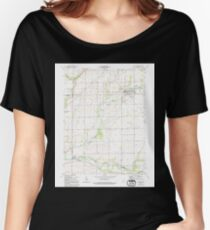 USGS TOPO Map Indiana IN Frankton 156859 1962 24000 Women's Relaxed Fit T-Shirt