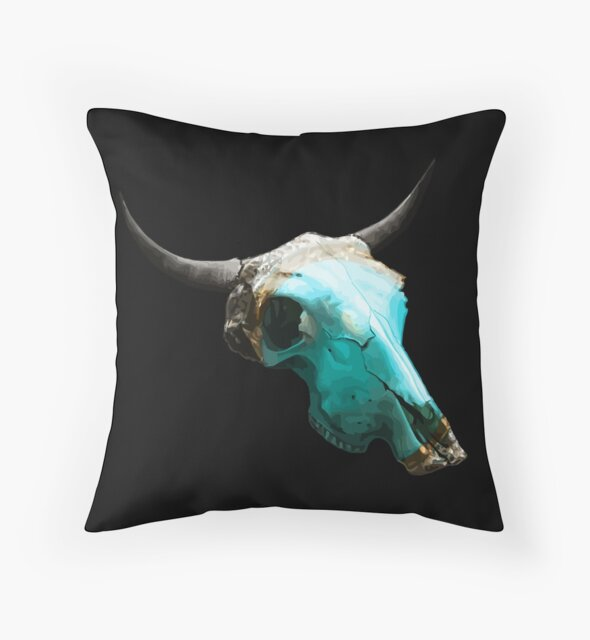 Jewelry Cow Skull Design v.8  by GLOBEXIT