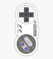 Super controller - Transparent Shirt Sticker