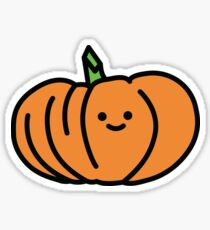 Cute Smiling Tiny Pumpkin Sticker