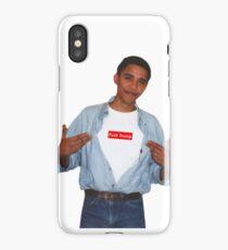 Obama Fuck Trump Supreme  iPhone Case/Skin