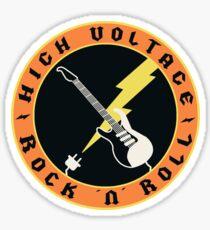 High Voltage - Rock 'n' Roll Sticker