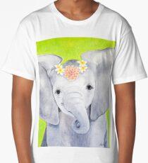 Dahlia the Elephant Long T-Shirt