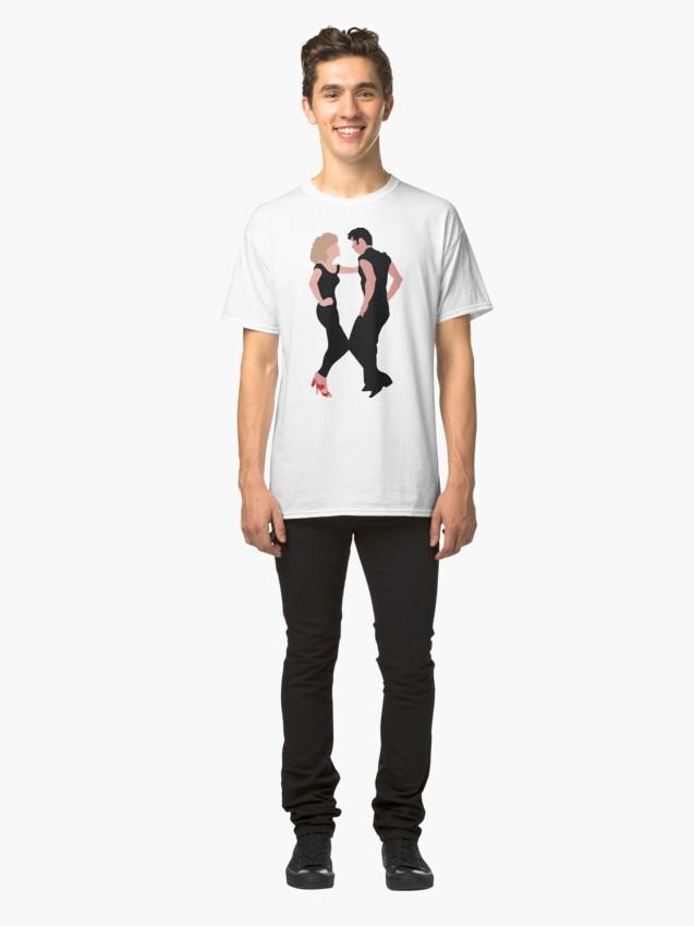Vista alternativa de Camiseta clásica Engrase el musical