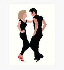 Grease The Musical Art Print