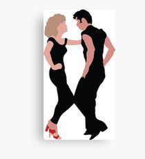Grease The Musical Canvas Print