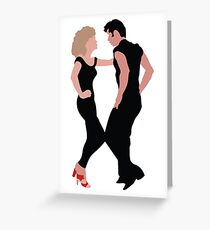 Grease The Musical Greeting Card