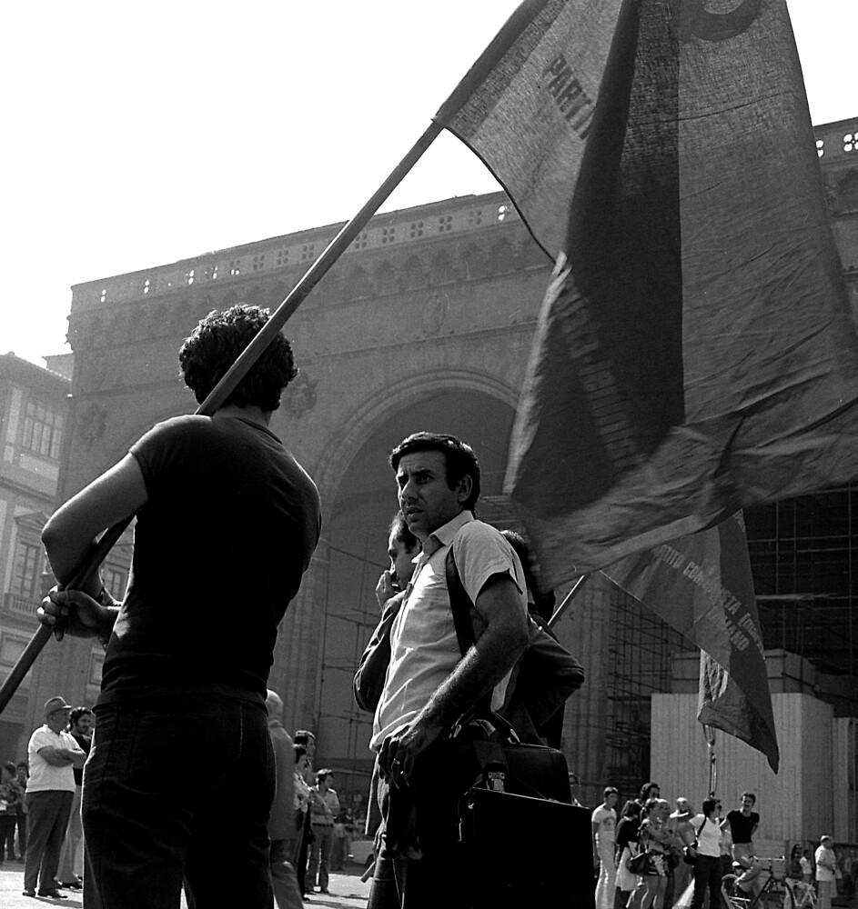 Rally, Florence by david malcolmson