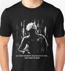 Camiseta ajustada Blade Runner: como lágrimas en la lluvia