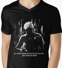 Blade Runner - Like Tears in Rain Men's V-Neck T-Shirt