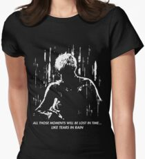 Blade Runner - Like Tears in Rain Women's Fitted T-Shirt