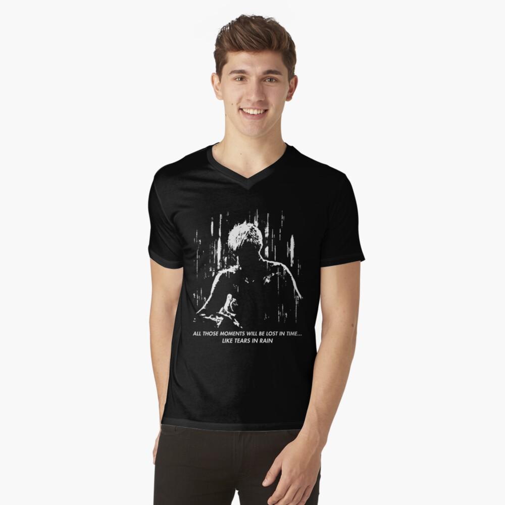 Blade Runner - wie Tränen im Regen T-Shirt mit V-Ausschnitt