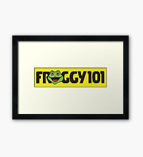 Froggy 101 The Office Framed Print