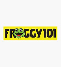Froggy 101 The Office Photographic Print