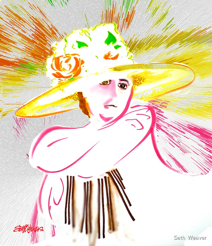 The Flowered Hat by Seth  Weaver