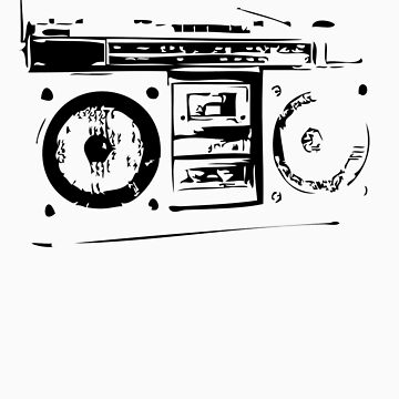 Boombox by jimmyjimjames