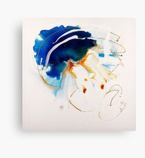 Alice in Spring 2 - Fluid Painting  Canvas Print