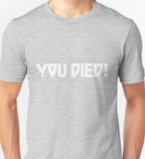 You died cuphead T-Shirt