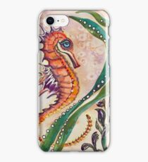 Shy Seahorse iPhone Case/Skin