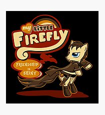 My Little Firefly Photographic Print
