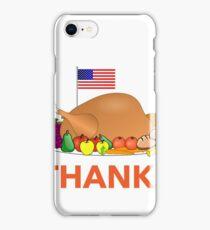 Thanksgiving day in USA Design shirt iPhone Case/Skin